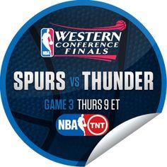 2012 NBA Playoffs: San Antonio Spurs vs. Oklahoma City Thunder