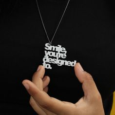 Smile, you are designed to. #accesories #accesorios