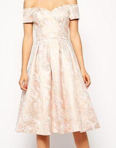 Enlarge ASOS Bandeau Debutante Midi Dress