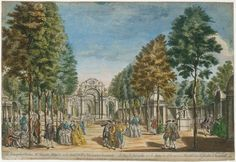 The Vauxhall Pleasure Gardens is one of the places I'd love to slip back in time to visit, just to catch a glimpse of what it was like. After recently splurging to buy this lovely coffee-table book...