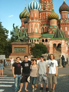 Red Square, Moscow - Russia: Konstantina was intern in Moscow in summer Have a look at one of her photos with other IAESTE Russia trainees at Red Square. Moscow Russia, Four Square, Cathedral, Greek, To Go, Couple Photos, Places, Summer, Couple Shots