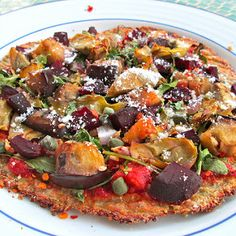 Overachieving Cauliflower Crust Pizza
