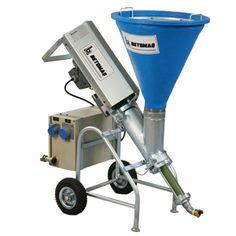 BC 10 - Bomba para argamassas industrializadas a base de cimento, texturas, natas, pinturas a cal e latex.