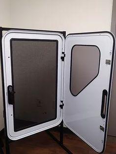 Wildlands Door | ternoverland Off Grid Trailers, Small Camper Trailers, Teardrop Camper Trailer, Diy Camper Trailer, Teardrop Camping, Campers, Camping Trailer Diy, Truck Camper Shells, Arctic Tern