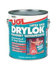 UGL - DRYLOK® Masonry - Masonry Waterproofer   Possibilities - White - & Cigar  White & Cocoa  Beige & Brickstone