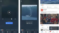Facebook tests streaming videos to TV using Apple's AirPlay, Google's Chromecast