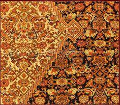 antique senneh seven colors 5 detail