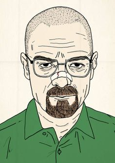 JC_ Walter White illustration by El Famoso