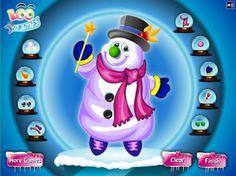 Pues vamos a jugar vistiendo a un muñeco de nieve. Genial!!! Sin frío, sin materiales, sin nieve!!!!! Así da gusto!!! (A mí me gusta más la ...