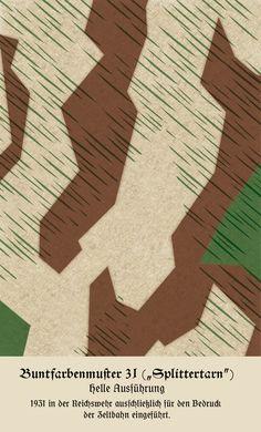 Buntfarbenmuster 31 (Splittertarn) - List of military clothing camouflage…