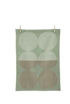 Moon Tea Towel - Mint