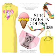 """""""she comes in colors"""" by mirisproleca ❤ liked on Polyvore featuring mode, colors et colorful"""