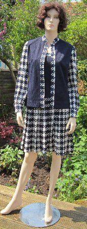 Vintage 60s 70s dress & jacket Wilroy by vintageartizania on Etsy, $54.99