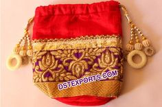 #Wedding #Decorated #Shagun #Potli #Bags #Dstexports