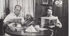 from ebay  http://www.ebay.it/itm/Buster-Keaton-and-wife-Eleanor-RARE-Photo-candid-at-home-/361452708478?hash=item542842a27e:g:XJIAAOSwCQNWdf4q