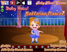 Help Baby Hazel learn and perform the most amazing ballet dance steps and win the Preschool Ballet trophy