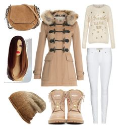 """""""Winter Collection 3"""" by im-love-with-the-cocoa-channel on Polyvore featuring Burberry, rag & bone, Phase 3, Balmain, Winter, brown and snow"""