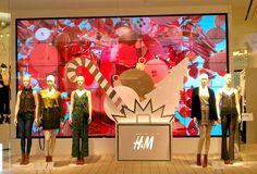 "H&M,Siam Paragon,Bangkok, ""Celebrating Christmas"", pinned by Ton van der Veer"