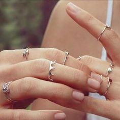 Anillos, anillos y más anillos.