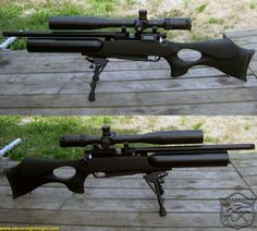 Daystate Air Wolf MCT Tactical air rifle! This setup looks great! I love these all blacked out rifles!