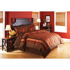 This is the color scheme we are using for the master bedroom.