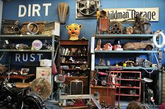 American Pickers shop