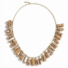 Alphabet necklace wooden !!! Awesome work !!!:)