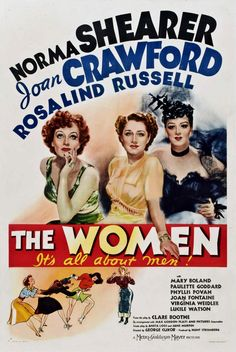The Women, 1939: The film stars Norma Shearer, Joan Crawford, Rosalind Russell, Paulette Goddard, Joan Fontaine, Lucile Watson, Mary Boland, and Virginia Grey, as well as Marjorie Main and Phyllis Povah, the last two of whom reprised their stage roles from the play. Florence Nash, Ruth Hussey, Virginia Weidler, Butterfly McQueen, and Hedda Hopper also appeared in smaller roles. As of September 2013, Fontaine is the only surviving actress with a credited role in the film.