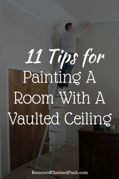 You don't have to pay a pro to paint your room with a vaulted ceiling. I've got 11 tips to help you tackle this job yourself.