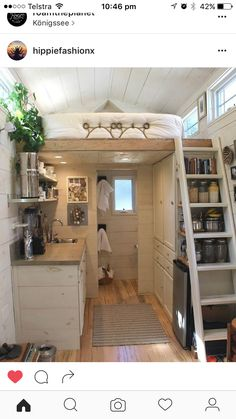 Impressive Tiny House Built for Under Fits Family of 3 - Tiny Living - Curbed National Tyni House, Tiny House Living, Hall House, Tiny House Loft, Tiny House Family, Tiny House Stairs, Shed To Tiny House, Tiny House Nation, Cottage House
