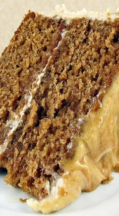 Caramel Apple Layer Cake with Cream Cheese Frosting - Dessert and Snack Recipes - Gateau Apple Recipes, Sweet Recipes, Baking Recipes, Cake Recipes, Dessert Recipes, Snack Recipes, Fall Desserts, Just Desserts, Delicious Desserts