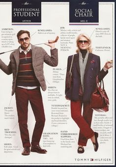 Twirling Clare: Tommy Hilfiger does the Preppy Handbook