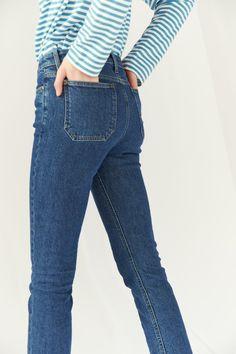 8e1ada7d6b3 M.i.h Niki Jean - Classic Skew High Jeans