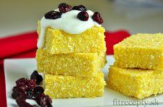 Polentovo-citrónový koláč - FitRecepty