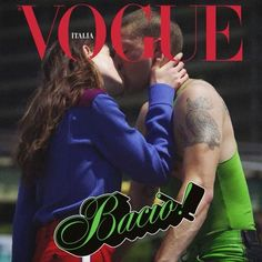 What if your kiss was on the cover of Vogue Italia?  recreate our September Mert Alas and Marcus Piggott cover and share it with #erasolounbacio we will publish our favorite ones on vogue.it  via VOGUE ITALIA MAGAZINE OFFICIAL INSTAGRAM - Fashion Campaigns  Haute Couture  Advertising  Editorial Photography  Magazine Cover Designs  Supermodels  Runway Models