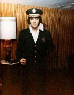 Elvis - Honorary Police Badge
