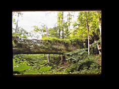 Pomona Natural Bridge  Photo Block  by SideStoriesStudios on Etsy