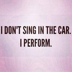 I do a full concert