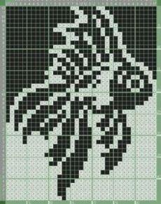 New crochet patterns doily projects ideas Cross Stitch Charts, Cross Stitch Designs, Cross Stitch Patterns, Pixel Crochet, Crochet Chart, Knitting Charts, Knitting Stitches, Bead Loom Patterns, Crochet Patterns