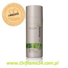 Oriflame Ecobeauty Smoothing Night Cream- Wygładzający krem na noc Oriflame Ecobeauty Oriflame. Ten antyoksydacyjny krem na noc intensywnie odżywia, chroni i regeneruje skórę podczas snu. Zabezpieczony w hermetycznym opakowaniu. Testowany dermatologicznie. 50 ml
