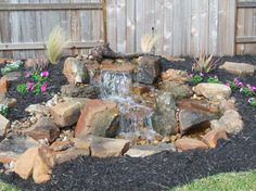 Pondless Water Features | Contemporary Home pondless waterfall Design Ideas, Pictures, Remodel ...
