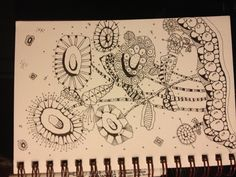 Zentangle Odd Flowers!!!