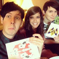 Cat,Dan,Phil ^_^