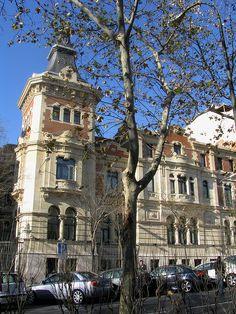 Ornate 19th Cemtury Homes | Ornate 19th century building, Plaza de Santa Barbara, madrid | Flickr ...