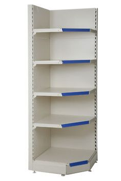 SHOP SHELVING,CORNER UNI...