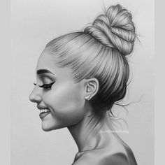 One love Manchester ? Ariana Grande Drawings, Ariana Grande Fans, Ariana Grande Wallpaper, Beautiful Pencil Sketches, Realistic Face Drawing, Cute Love Wallpapers, Art Du Croquis, Celebrity Drawings, Manchester