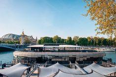 Pas mal, cette vue, non ? Pont Alexandre III à l'ouest, Grand Palais au nord, Louvre à l'est, et Invalides au sud…  Ce spot, c'est le Flow,