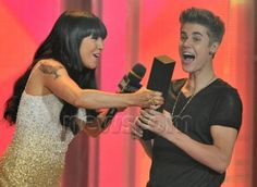 Justin Bieber at MMVA