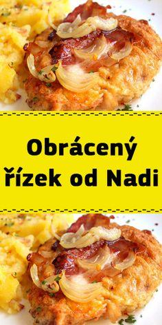 Obrácený řízek od Nadi Food And Drink, Meat, Chicken, Essen, Cubs