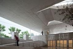 Image 45 of 45 from gallery of Palacio de Justica de Gouveia / Barbosa & Guimaraes Architects. Dezeen, Skylight, Architecture Design, Building, House, Architectural Presentation, Home Decor, Spaces, Architecture